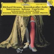 Rosenkavalier Suite, Intermezzo, Salome, Capriccio: Previn / Vpo