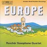 Europe: Racher Saxophone.q Xenakis, Penderecki, Hindemith, Norgard