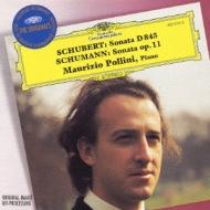 シューベルト:ピアノ・ソナタ第16番、シューマン:ピアノ・ソナタ第1番 マウリツィオ・ポリーニ
