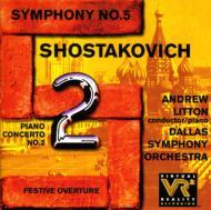 交響曲5、ピアノ協奏曲.2 Litton / Dallas.so