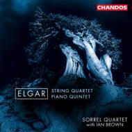 エルガー:弦楽四重奏曲、ピアノ五重奏曲 ブラウン(p)/ソレール・クヮルテット