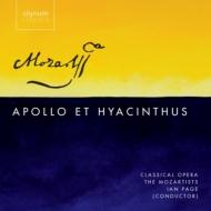 『アポロとヒュアキントゥス』全曲 イアン・ペイジ&クラシカル・オペラ、ソフィー・ベヴァン、ローレンス・ザッゾ、他(2011 ステレオ)