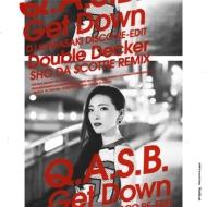 Get Down (Dj Kawasaki Disco Re-edit)/ Double Decker: (Sho Da Scottie Remix)(7インチレコード)