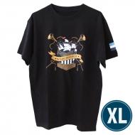 欅共和国2019Tシャツ エンブレム ブラック(XL)