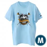 欅共和国2019Tシャツ エンブレム ライトブルー(M)