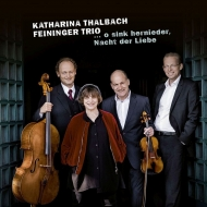 Schubert Notturno, Chopin Piano Trio : Feininger Trio, Katharina Thalbach(Narr)