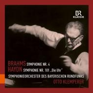 ブラームス:交響曲第4番、ハイドン:交響曲第101番『時計』 オットー・クレンペラー&バイエルン放送交響楽団(1957、1956)
