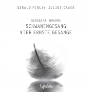 シューベルト:『白鳥の歌』、ブラームス:4つの厳粛な歌 ジェラルド・フィンリー、ジュリアス・ドレイク
