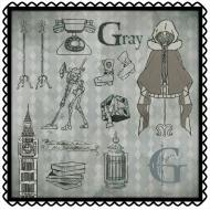 ハンドタオル(グレイ)/ ロード・エルメロイII世の事件簿