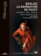 (Pal-DVD)La Damnation de Faust : Francois-Xavier Roth / Les Siecles, Vidal, Antonacci, Courjal