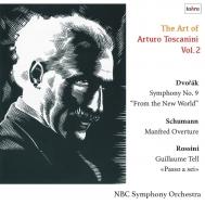 ドヴォルザーク:交響曲第9番『新世界より』、ロッシーニ、シューマン アルトゥーロ・トスカニーニ&NBC交響楽団(1953)