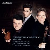 チャイコフスキー:偉大な芸術家の思い出に、ババジャニアン:ピアノ三重奏曲、他 エフゲニー・スドビン、ワジム・グルズマン、ヨハネス・モーザー