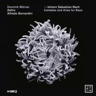 バス独唱とオーボエのための教会カンタータ集 ドミニク・ヴェルナー、アルフレード・ベルナルディーニ&ゼフィーロ