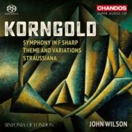 交響曲、シュトラウシアーナ、主題と変奏 ジョン・ウィルソン&シンフォニア・オブ・ロンドン