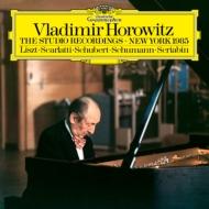 ホロヴィッツ:ザ・スタジオ・レコーディングス ニューヨーク 1985年 (180グラム重量盤レコード)