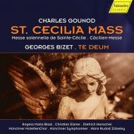 グノー:聖チェチーリア荘厳ミサ曲、ビゼー:テ・デウム ハンス・ルドルフ・ツェベレイ&ミュンヘン交響楽団、ミュンヘン・モテット合唱団