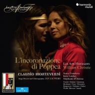 『ポッペアの戴冠』全曲 ウィリアム・クリスティ&レザール・フロリサン、ソーニャ・ヨンチェヴァ、ケイト・リンゼイ、他(2018 ステレオ)(3CD+DVD)
