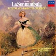 『夢遊病の女』全曲 ボニング&ナショナル・フィル、ジョーン・サザーランド、ルチアーノ・パヴァロッティ、他(1980 ステレオ)(2CD)