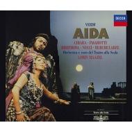 『アイーダ』全曲 ロリン・マゼール&スカラ座、マリア・キアーラ、ルチアーノ・パヴァロッティ、ゲーナ・ディミトローヴァ、他(1985〜86 ステレオ)(2CD)