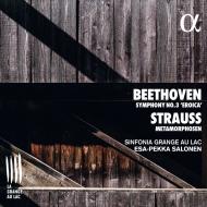ベートーヴェン:交響曲第3番『英雄』、R.シュトラウス:メタモルフォーゼン エサ=ペッカ・サロネン&シンフォニア・グランジュ・オ・ラック
