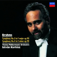 交響曲第3番、第4番 イシュトヴァン・ケルテス&ウィーン・フィル