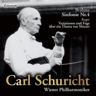 ブラームス:交響曲第4番、レーガー:モーツァルトの主題による変奏曲とフーガ カール・シューリヒト&ウィーン・フィル(1958)