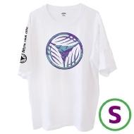 リーフロゴ Tシャツ ホワイト(S)