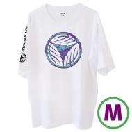 リーフロゴ Tシャツ ホワイト(M)