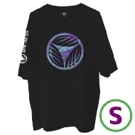 リーフロゴ Tシャツ ブラック(S)