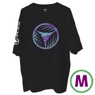 リーフロゴ Tシャツ ブラック(M)