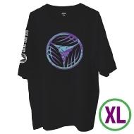 リーフロゴ Tシャツ ブラック(XL)