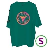 リーフロゴ Tシャツ グリーン(S)