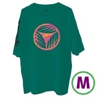リーフロゴ Tシャツ グリーン(M)
