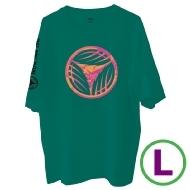 リーフロゴ Tシャツ グリーン(L)