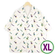 アロハシャツ ホワイト(XL)