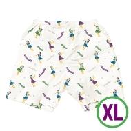 アロハハーフパンツ ホワイト(XL)
