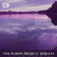 カーニス:弦楽四重奏曲第3番『河』、ドビュッシー:弦楽四重奏曲 ジャスパー弦楽四重奏団