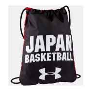 UNDER ARMOUR JAPAN Sackpack Black / アカツキファイブ