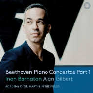 ピアノ協奏曲第1番、第3番、第4番、三重協奏曲 イノン・バルナタン、アリサ・ワイラースタイン、ステファン・ジャッキーヴ、ギルバート&アカデミー室内管(2CD)