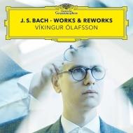 『バッハ〜鍵盤楽器のための作品集』『バッハ・リワークス』 ヴィキングル・オラフソン(2CD)