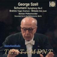 シューマン:交響曲第2番、R.シュトラウス:ドン・ファン、ブラームス:悲劇的序曲 ジョージ・セル&ベルリン・フィル(1969年ステレオ)(日本語解説付)