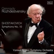 Symphony No.10 : Gennady Rozhdestvensky / Yomiuri Nippon Symphony Orchestra