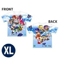 12球団パワプロ女子 Tシャツ(XL)