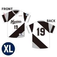 eBASEBALL プロリーグ 公式ユニフォーム 千葉ロッテマリーンズ(XL)