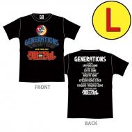 少年クロニクル ツアーTシャツ/BLACK(L)