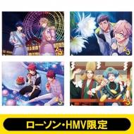 A4クリアファイル4枚セットA【ローソン・HMV限定】