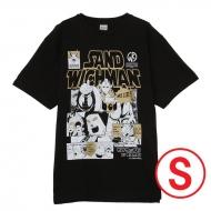 キン肉マン×サンドウィッチマン コラボTシャツ BLACK (S)