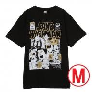 キン肉マン×サンドウィッチマン コラボTシャツ BLACK (M)