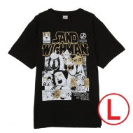 キン肉マン×サンドウィッチマン コラボTシャツ BLACK (L)