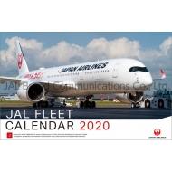 JAL「FLEET」(普通判)/ 2020年カレンダー